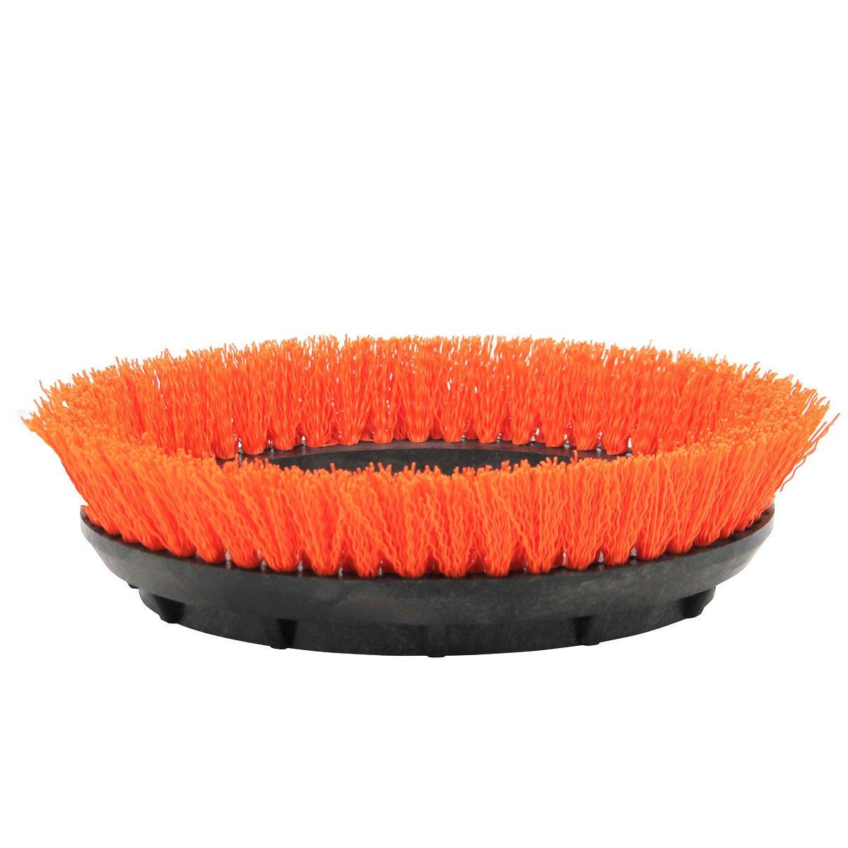 Orbiter Orange Scrub Brush1