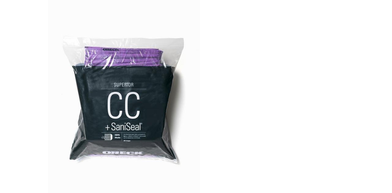 SUPERIOR Filtration Vacuum Bag (25pk) - AK1CC25H