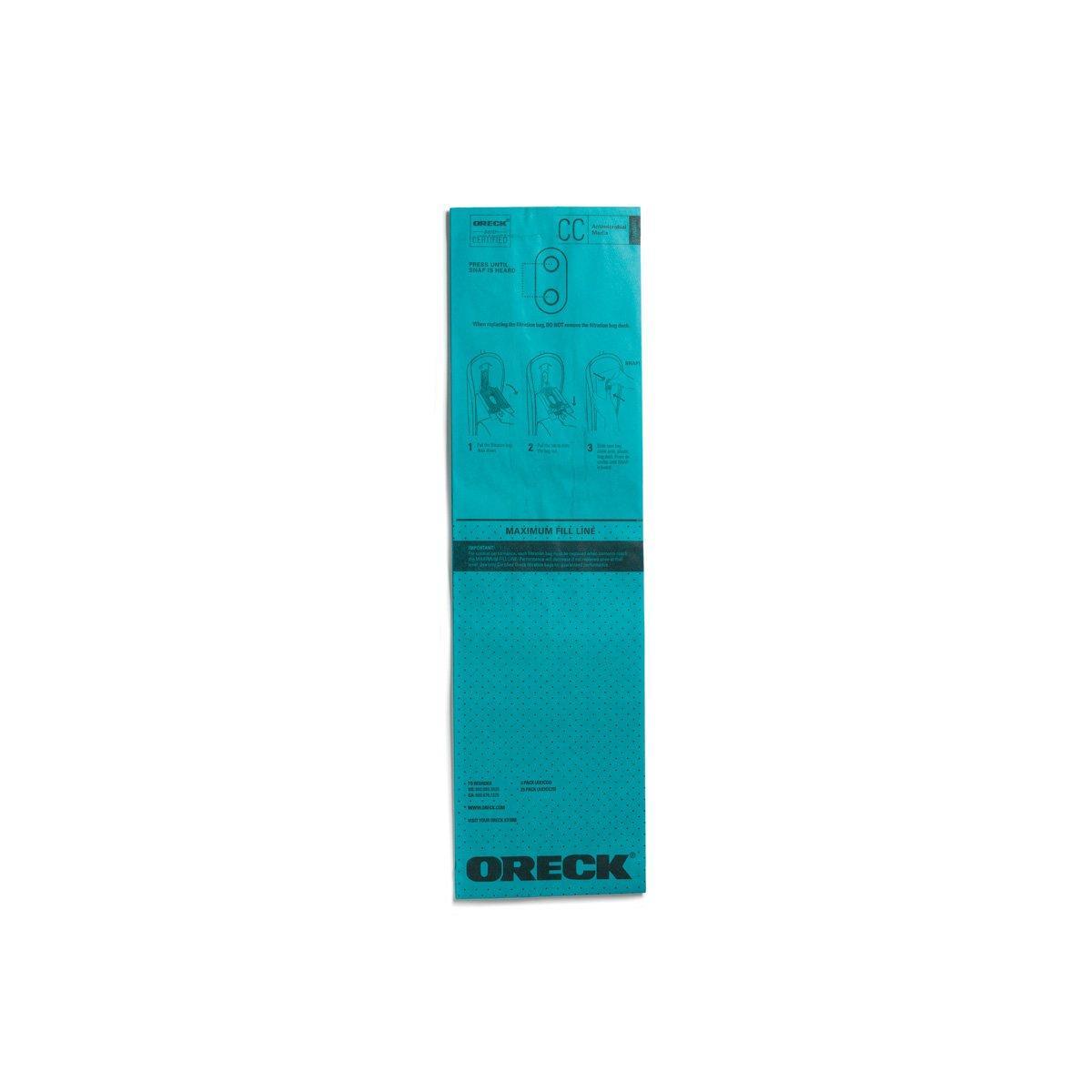 STANDARD Filtration Vacuum Bag (25pk)1