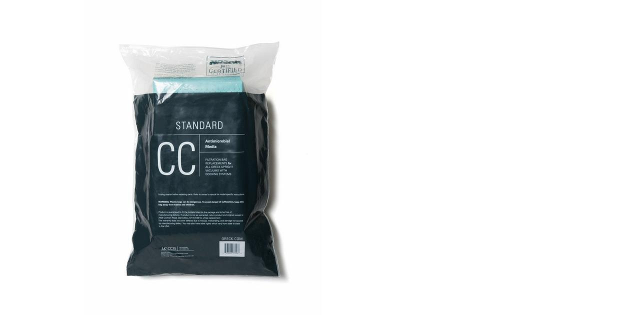 STANDARD Filtration Vacuum Bag (25pk) - AK1CC25
