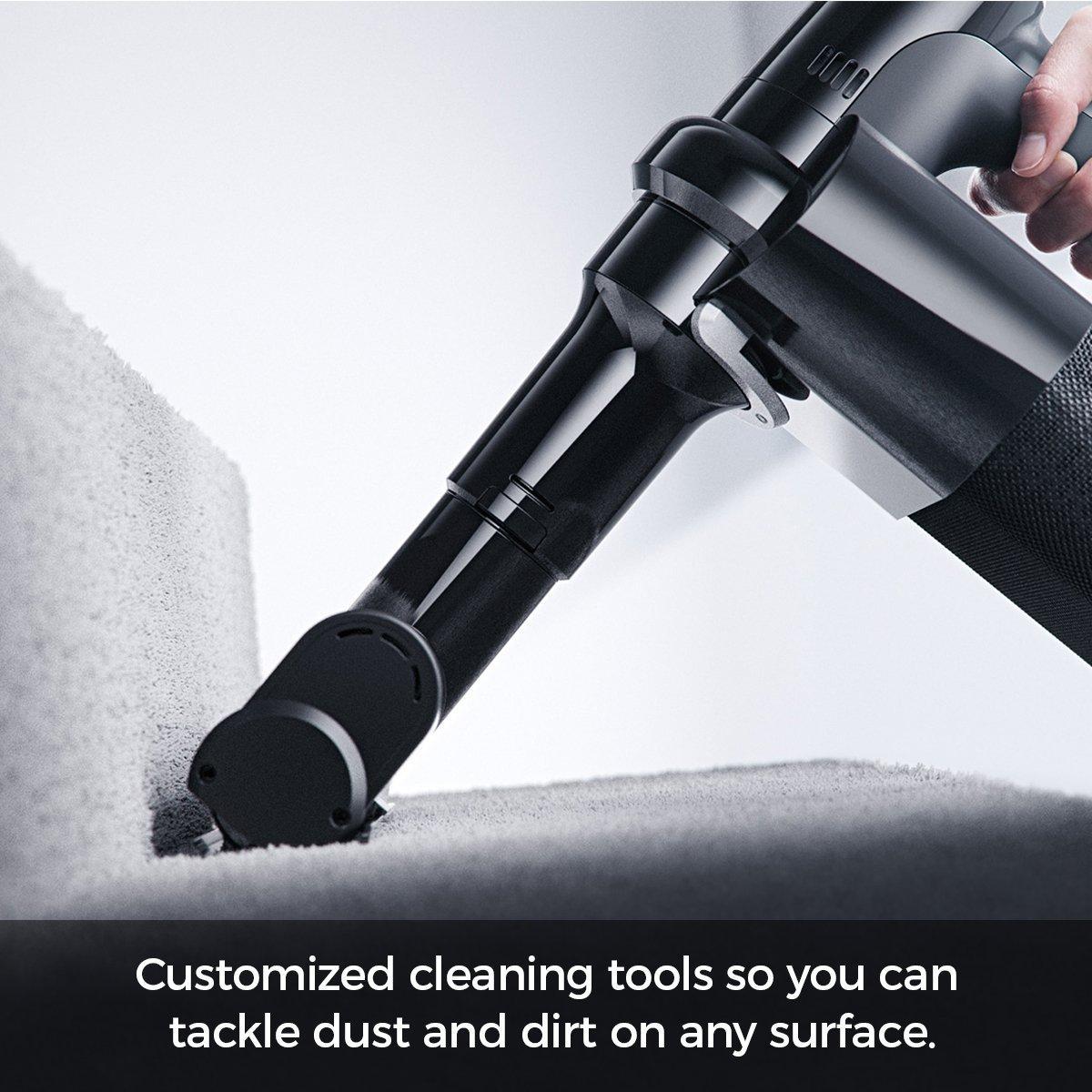 Cordless Vacuum with POD Technology - Black5