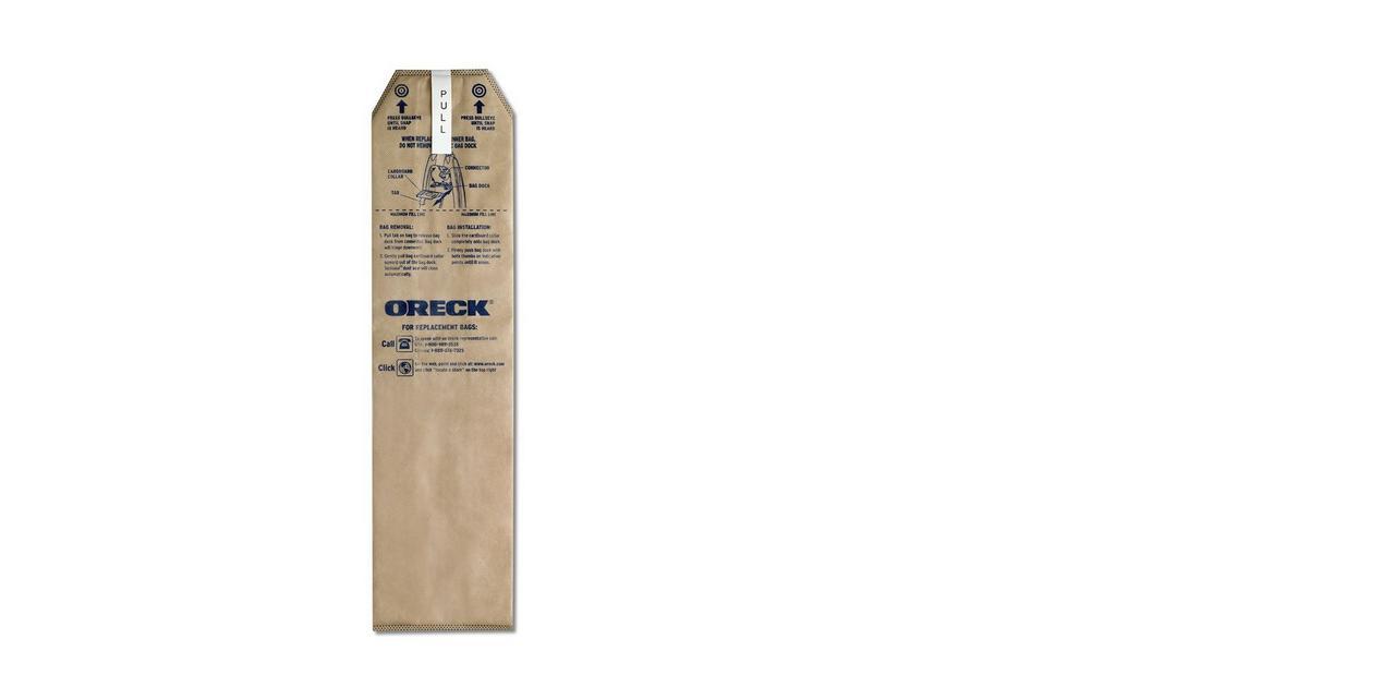 Magnesium HEPA Odor Fighting Vacuum Cleaner Bags (25 pack) - LWPK25OH