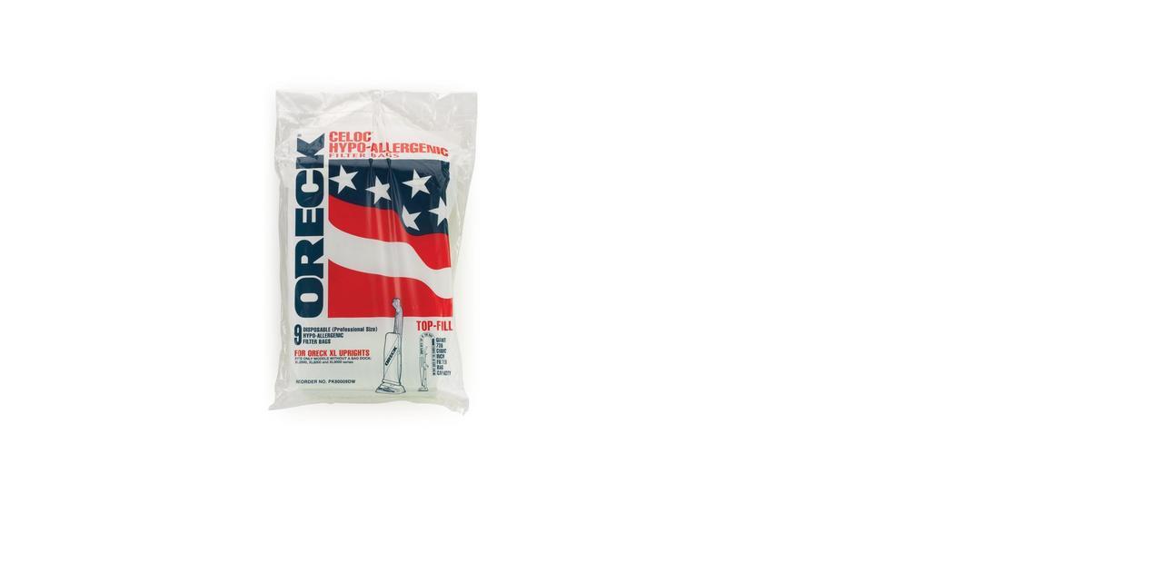 Commercial Upright Vacuum Bags - PK80009DW