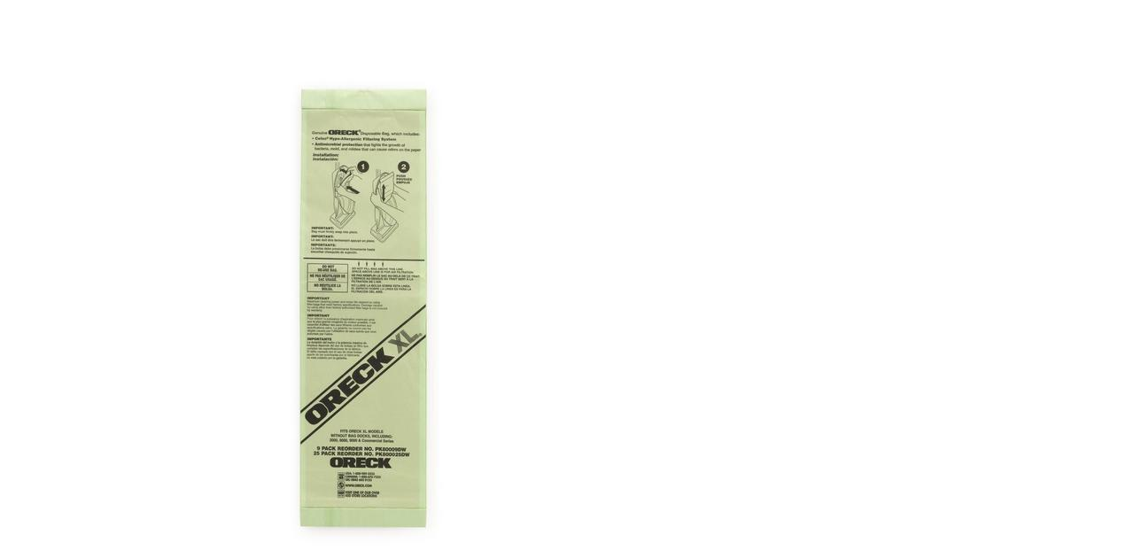 Commercial Upright Vacuum Bags - PK80009DW